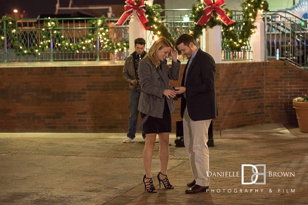 marietta sq surprise proposal atlanta wedding photographer