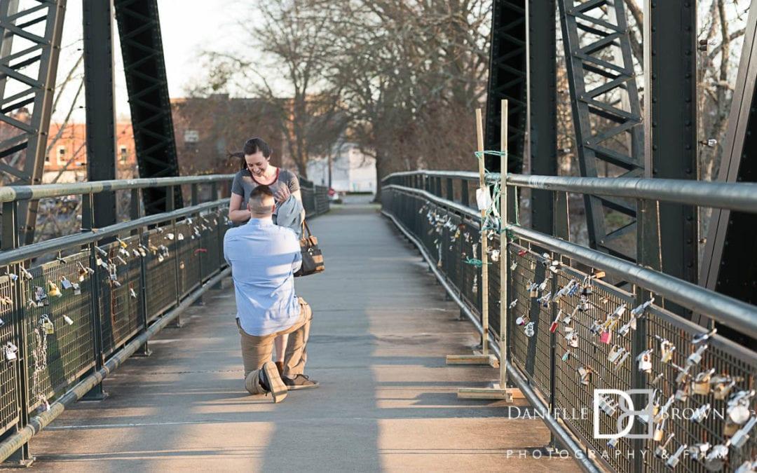 rome ga surprise proposal   atlanta wedding photography