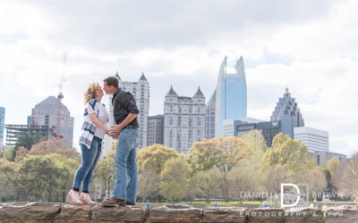 engagement photos piedmont park | atlanta wedding photographer