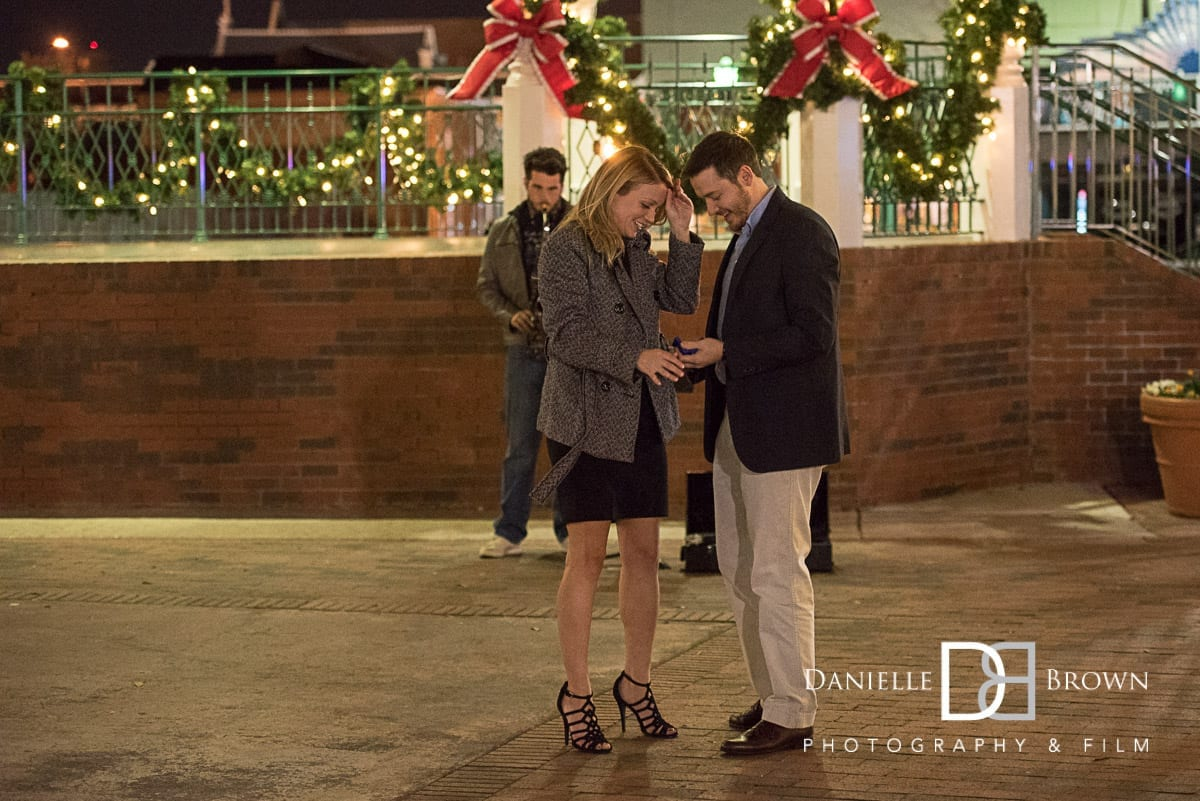 marietta sq surprise proposal atlanta wedding photographer