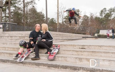 atlanta skatepark engagement photos | atlanta wedding photographers
