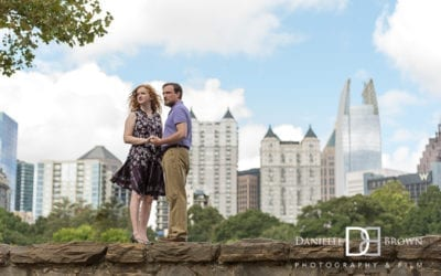 engagement photography piedmont park | dozier