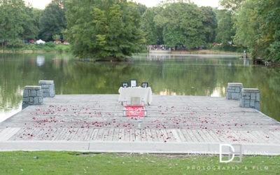 surprise proposal piedmont park   atlanta wedding photography