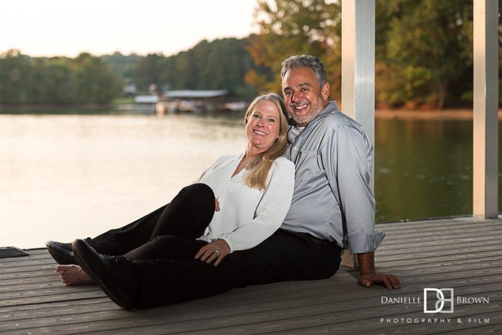 lake lanier engagement photographer