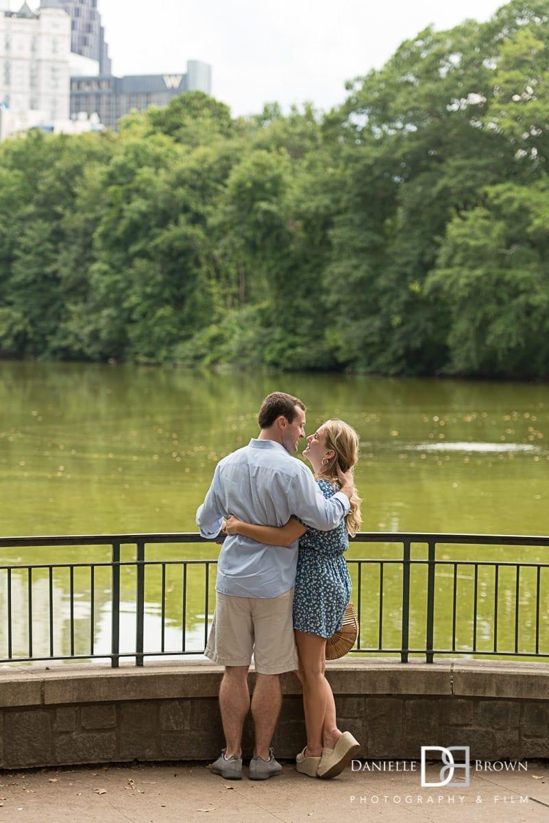 piedmont park   atlanta surprise proposal