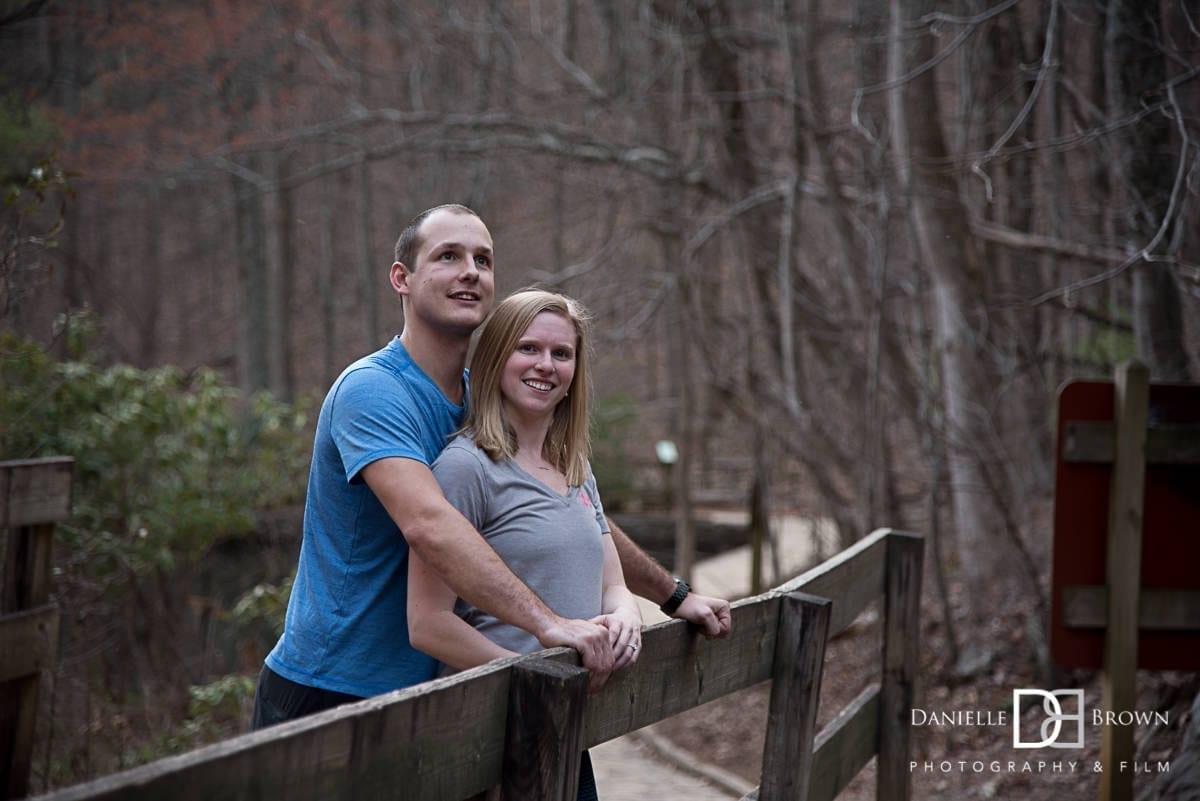 Amacalola Falls surprise proposal