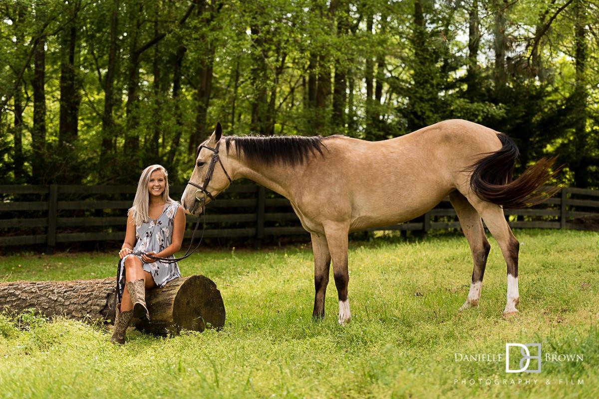 Horse Senior Pictures Atlanta Atlanta Wedding Photographers Danielle Brown Photography